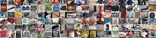 A fraction of the items I decluttered in 2011