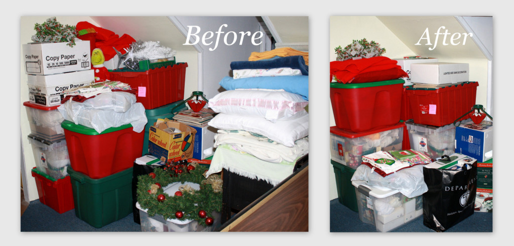 Before after michelle s christmas declutter - Declutter before and after ...